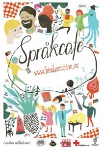 Sprakcafe affisch webadress liten