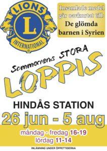 Lions sommarloppis 26/6-5/8