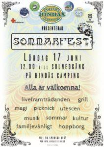 Hindås Kulturfestival Sommarfest 2017 - utomhus vid sjön!
