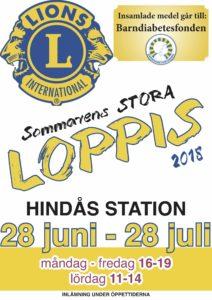 Sommarloppis @ Hindås station