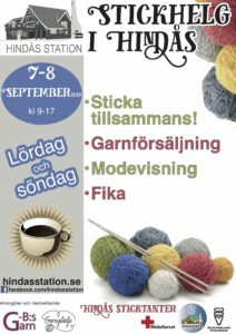 Stickhelg 7-8 september