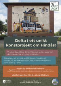 ARTSCAPE SAGA - inlämning berättelser om Hindås @ Heddas rum, Hindås station