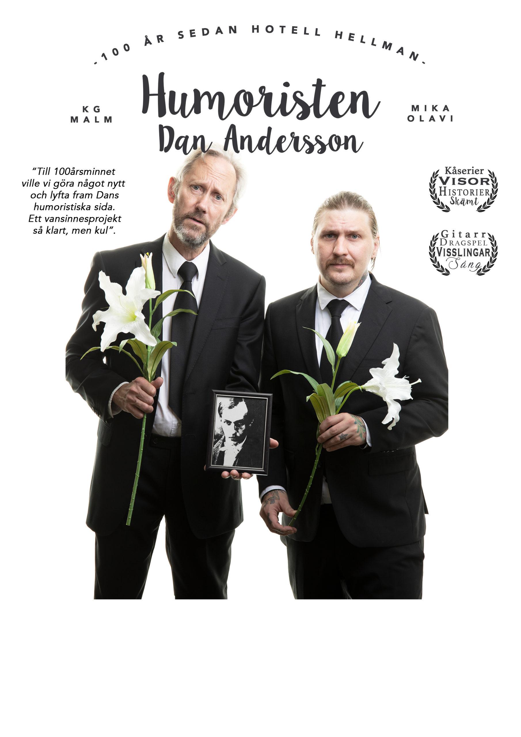 Humoristen Dan Andersson